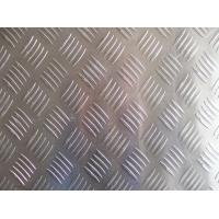 Best Embossed 6mm Aluminium Sheet , Pattern Aluminium Tread Plate For Bus Floor wholesale