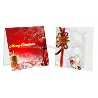Cheap 3D Birthday Lenticular Photo Printing PET / PP Plastic Material Custom Greeting Cards for sale