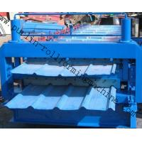 Best Metal Roofing Double Layer Roof Tile Roll Forming Machine, Professional Durable Roof Tile Bending Machine wholesale
