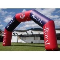 Best Outdoor Commercial Advertising Event Customized Logo Inflatable Race Start And Finish Entrance Line Arch/Archway wholesale