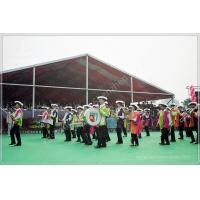 Quality 850gsm PVC Fabric Outdoor Event Tent 20M Wide With Red Roof Lining Decoration wholesale