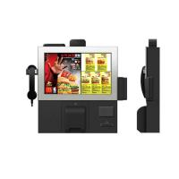 Best Smart design customized 17 inch wall mounted touch screen kiosk with hand phone wholesale