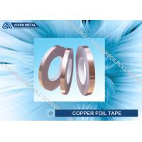 Best Self Adhesive EMI Shielding Copper Foil Tape With ROHS , SGS , CTI Certificate wholesale