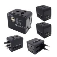 Best Two USB Port Travel Plug Adapter , 5V1A Travel Power Adapter Universal Type wholesale