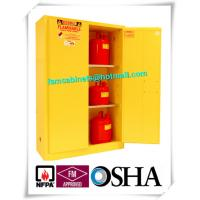 Laboratory Grounding Corrosive Chemical Storage Cabinets With Double Vents
