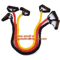 China Hot selling latex fitness resistance bands weight loss exercise pull rope elastic resistance band on sale