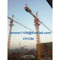 China TC5015 Topkit Tower Crane 480V/60Hz Industrial Power Delivery to Mexico on sale