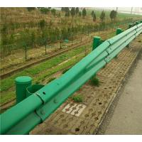 Best Q235 Highway Guardrail Systems Galvanized Or Powder Coating Steel For Road Safety wholesale