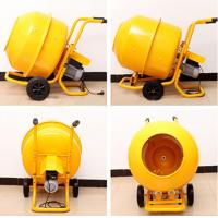 Best Mobile Electrical Wheelbarrow-style Mini Cement Mixer with 120L Polydrum and Solid Frame wholesale