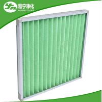 Best Covering Wire Pre Air Filter Mini G4 Pleated Panel Filter With Aluminum Frame wholesale