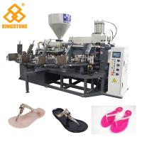 Best 110-150 Pairs / Hour Sandal Making Machine Full Production Line For PVC Slipper wholesale