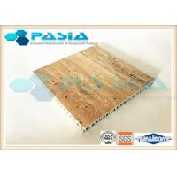 High Flexibility Honeycomb Stone Panels For Outdoor Decoration AHP Substrate