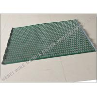 Best Hookstrip Flat Rock Shaker Screen For Model 2000 Shale Shaker Solids Control System wholesale
