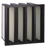 Cheap W Type/V-Bank/Large Air Flow HEPA Filter for sale