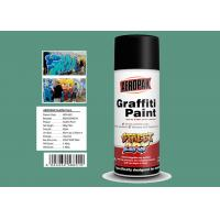 Best Apple Green Color Graffiti Spray Paint 400ml Filled With MSDS Certificate wholesale