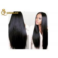 Best Indian Original 100% Lace Front Human Hair Wigs With Bleached Knots wholesale