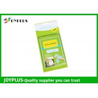 Best JOYPLUS Microfiber Cleaning Products Microfiber Glass And Mirror Cloth 200GSM wholesale