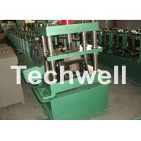 Best GCr15 Steel Cable Tray Roll Forming Machine For Storage Rack , Rack Beam 12-15m/min wholesale