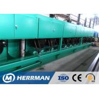 Horizontal Wire Drawing Equipment , Rod Breakdown Machine For Copper