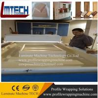 Best Kitchen Cabinet Vacuum membrane press machine for doors making for woodworking wholesale