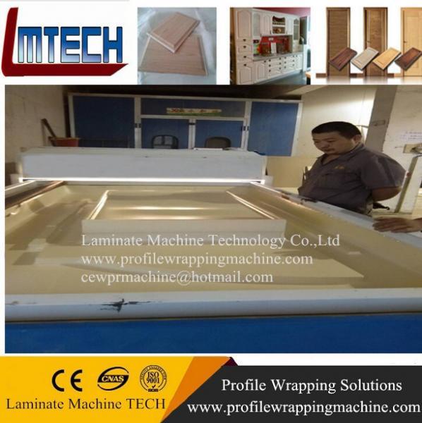 Cheap membrane press machine laminating press machine for cabinet for sale