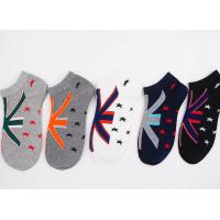 China 2017 New Design 69% Cotton 25 % Polyester 6%Spandex Knitted Boat Pattern Wholesale Cheap men Warm Winter Knitting Socks on sale