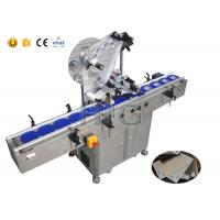 Best Self Adhesive Sheet Label Applicator Machine Delta Servo Motor High Accuracy wholesale