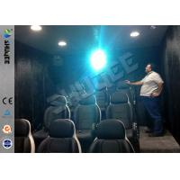 Best 9 Seats Mobile Movie Theater Black With Metal Flat Screen wholesale