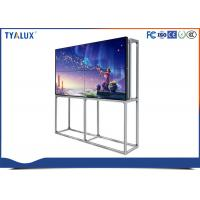 """Quality 55"""" FHD 1.8 mm ultra narrow bezel seamless video wall for fashion store advertising wholesale"""