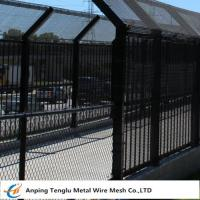 Buy cheap Bridge Fence|Anti-Throw Coated Driveway Bridge Wire Fencing 40x80mm Opening China from wholesalers