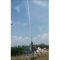China 30' telescopic pole camera system hard 6063 2mm thickness tube video tower system aerial photography mast 7.2V power on sale