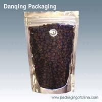 China Coffee Packaging With Valve ,Aluminium Foil Bag , Stand Up Pouch With Zipper on sale