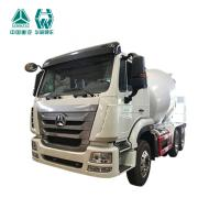 Best 6x4 Concrete Mixing Transport Trucks / Front Discharge Cement Trucks 21 - 30t wholesale