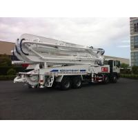 Cheap 47m Concrete Pump Trucks 8x4 / Cement Pumping Equipment With Cooling system for sale
