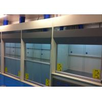 Best Biological Safety Exhaust Fume Hood , 1300mm Max Opening Chemical Fume Hood wholesale