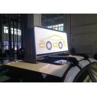 Best Full Color Taxi Top Led Billboard For Advertising , Led Taxi Top / Taxi Rooftop Bar wholesale
