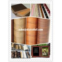 China Wood grain transfer foil on sale