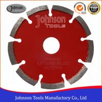 China 115mm Diamond Tuck Point Diamond Blades Sintered Stable Long Cutting Life on sale