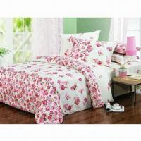 Buy cheap Bedding Set with Active Printing, Made of 100% Cotton from wholesalers