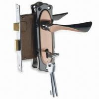 Best Mortise Lock for Sliding Doors, Cabinets and Other Furniture, with Master Key System wholesale