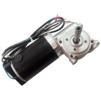 Best Black Shell Automatic Sliding Door Motor with 1signal , 40pulse Honeywell encoder 24VDC 60W wholesale