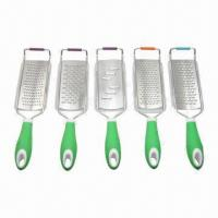 Best Acid Etching Graters with Stainless Steel Blade and Plastic Handle wholesale