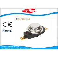 Buy cheap Automatic Reset 3/4' Bimetal Disc Thermostat KSD302-113 with UL VED certificate from wholesalers