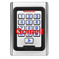 Best Metal Keypad Stand Alone Proximity Card Reader , IP68 Waterproof Stand Alone Door Access wholesale