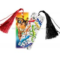Cheap Personalised 3D Lenticular Bookmark For Schools , 3d Printed Card for sale