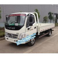 Best Diesel engine type Foton Aoling 6m length 4X2 2 ton small cargo truck for sale BJ1049V9JEA-3 cream / red / blue color wholesale