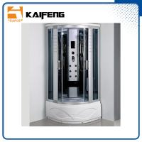 Cheap Luxury Room Steam Shower Bath Cabin Shower Spa Units With Spa Tub Sector Shape for sale