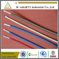 Best Top quality Color PVC/Nylon/TPU/PE 7x7 coated  Steel Wire cable china factory wholesale