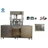 Best 6 Cavities Press Mold Compact Powder Press Machine For 59MM Pan Size wholesale