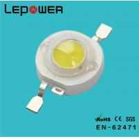 Best 3.4V 550mA 1W High Power LED 130LM Warm White , Bridgelux LED Diode wholesale